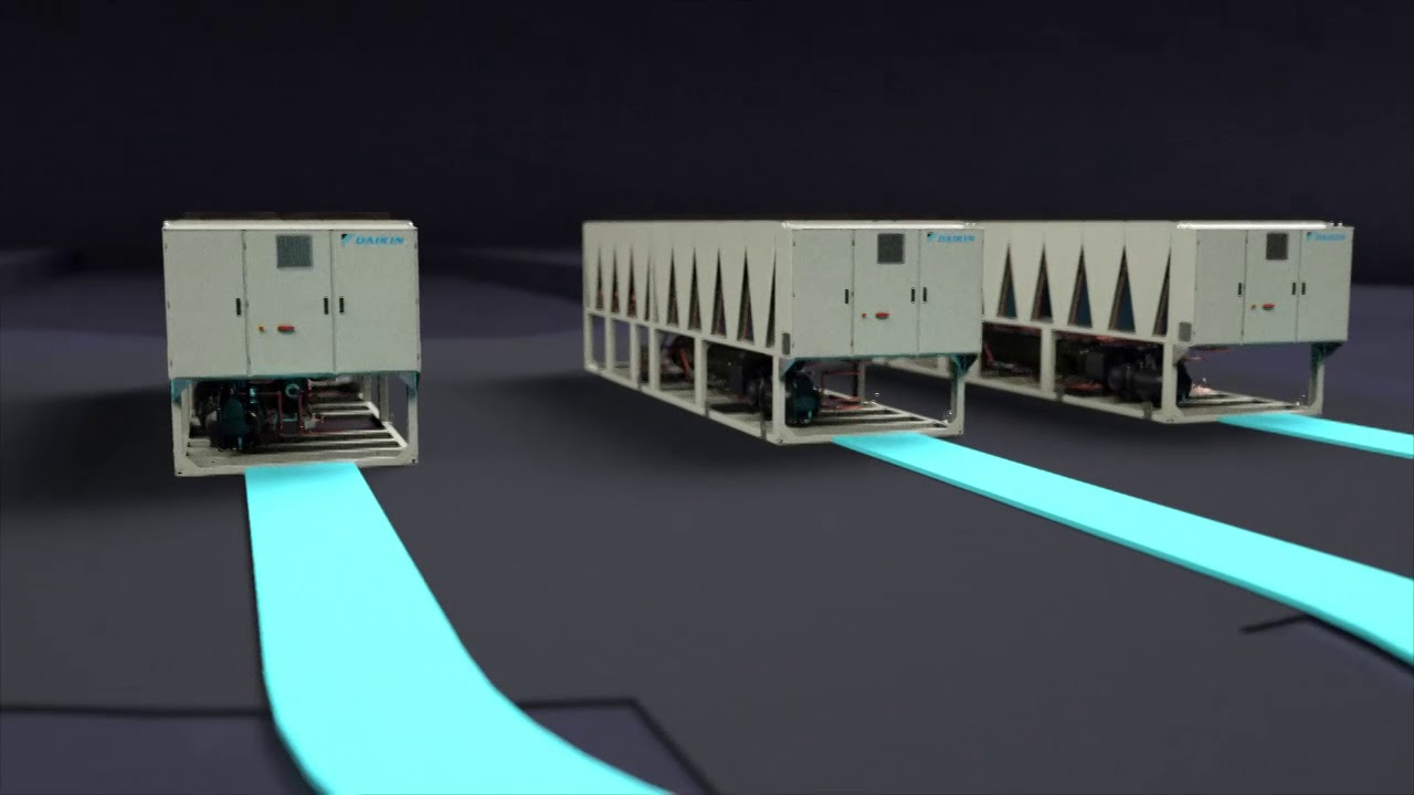Pathfinder® Air-cooled Chiller Now Available with Free Cooling