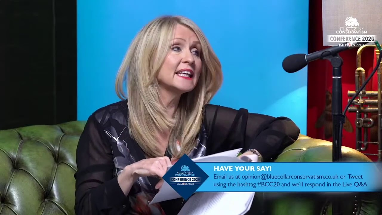 Blue Collar Conversations Live in the Blue Boar with Esther McVey 28/09/20