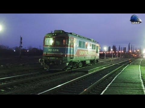 LDE2100 60-0261-2 RO-GFR pe Seară/on Evening in Oradea Est Triaj - 02 January 2019