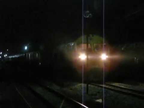 SRT Southern Line Special Exp 86 Night Train Thailand การรถไฟแห่งประเทศไทยทางรถไฟสายใต้ (Part 2)