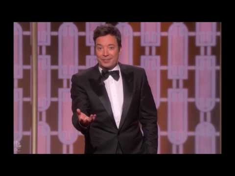 Jimmy Fallon Braves Teleprompter Failure, Opens With Musical Number in Golden Globes 2017