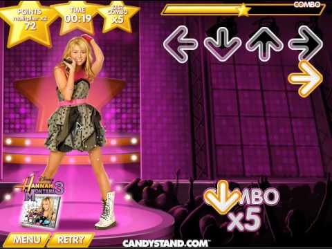 Hannah Montana Lets Dance Game