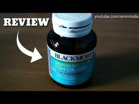REVIEW BLACKMORES FISH OIL 1000 ODOURLESS