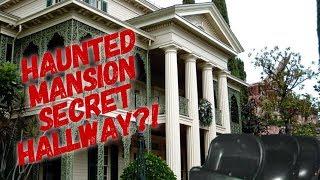Disneyland's Haunted Mansion Secret Hallway
