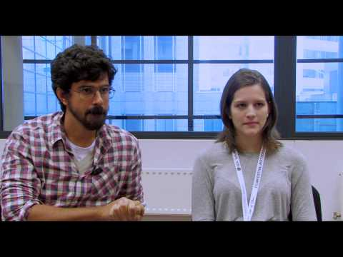 IFFR 2013 - Interview with Marcelo Lordello and  Maria Luiza Tavares.