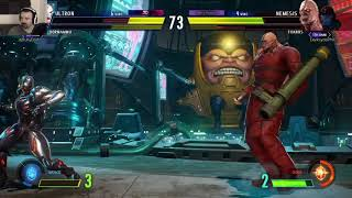 MvC Infinite: Week 2 Online Play pt16 - vs. Dormammu/Ultron