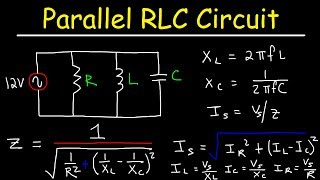 Parallel RLC Circuit Example Problem