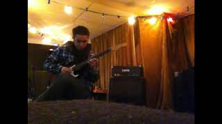 Two-part guitar solo in a cycle dominated by quintuple meter