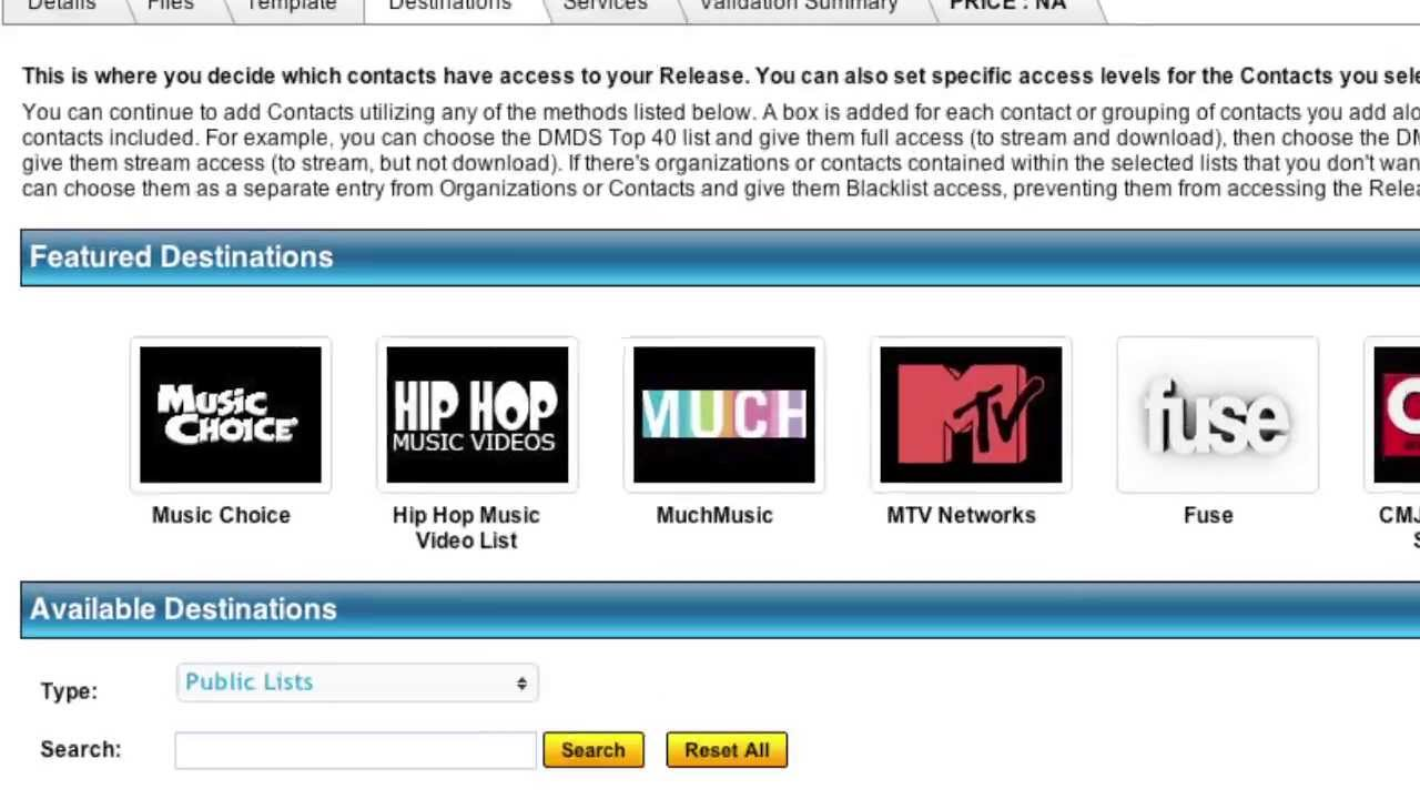 How to Send & Submit Music to Radio & TV: Digital Delivery Service for MTV,  REVOLT, & other Outlets