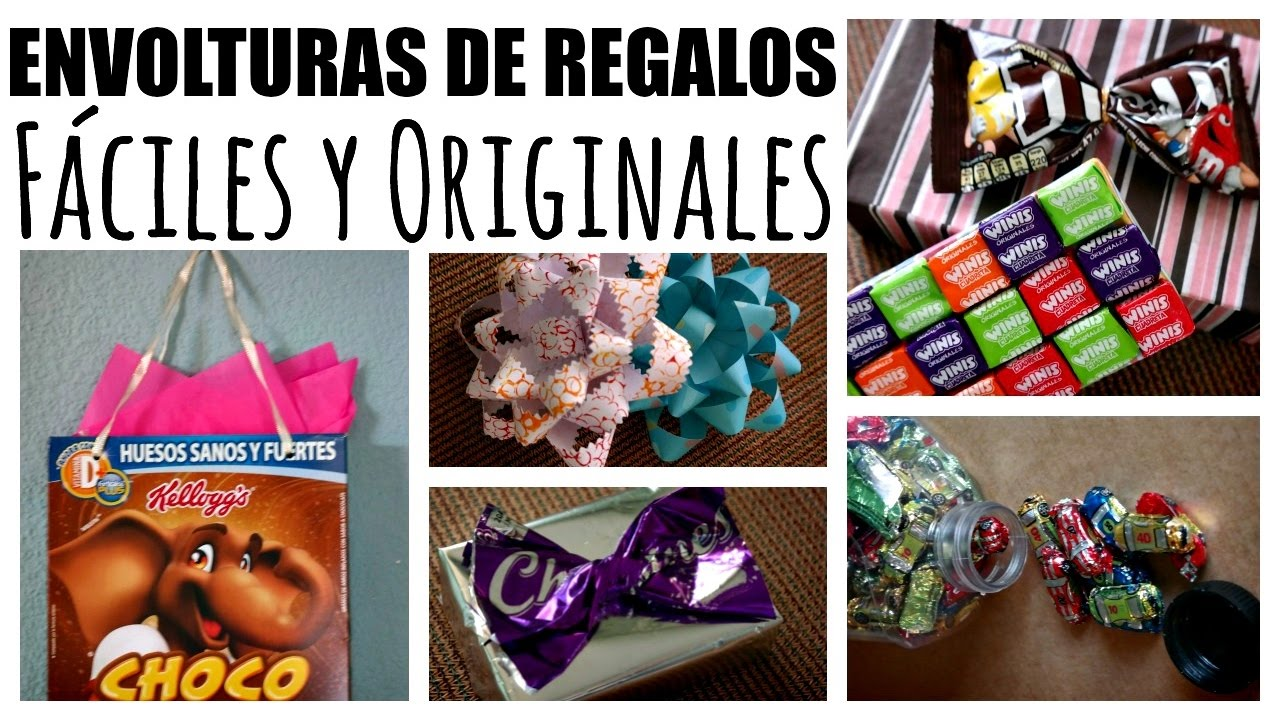 Hacks para envolver regalos ideas originales ame may n - Ideas de regalos originales para amigas ...
