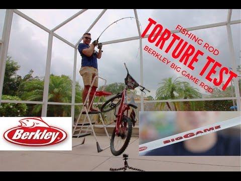 Breaking The Berkley Big Game Rod - Torture Test