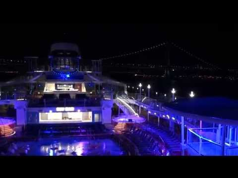 Quantum of the Seas: Inaugural Bayonne Arrival on December 1, 2014