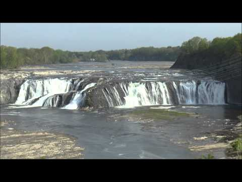 Cohoes Falls, Mohawk River, Cohoes, Albany County, NY