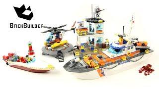 Lego City 60167 Coast Guard Headquarters - Lego Speed Build