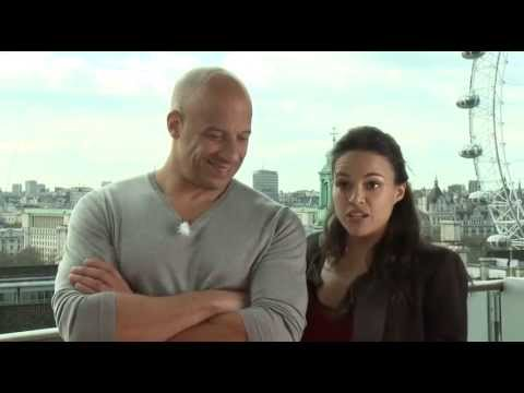 Fast & Furious 6 Interview Vin Diesel & Michelle Rodriguez