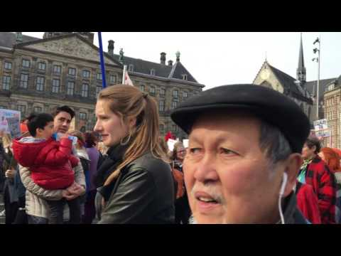 amsterdam international woman day