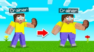 MINECRAFT BUT You CAN'T STOP EATING! (Crazy)