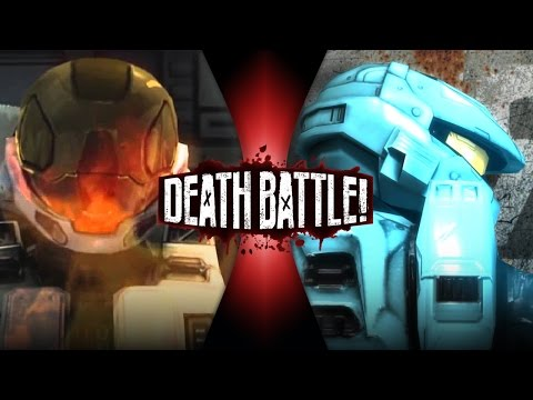 Meta VS Carolina | DEATH BATTLE! (Red VS Blue)