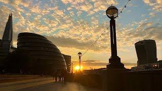 LONDON WALK: Tower Bridge, The Shard & London Bridge Station — Walking Tour【4K】🇬🇧