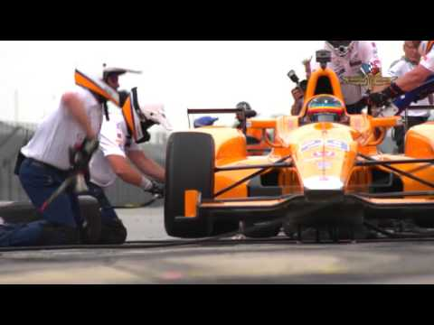 Fernando Alonso - Día 3 - Indy 500