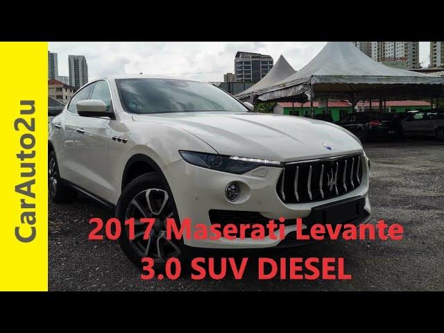 2017 Maserati Levante 3 0 SUV DIESEL RM400,000