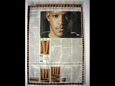 Guardian Paperworks - Negative Positives       Lubaina Himid