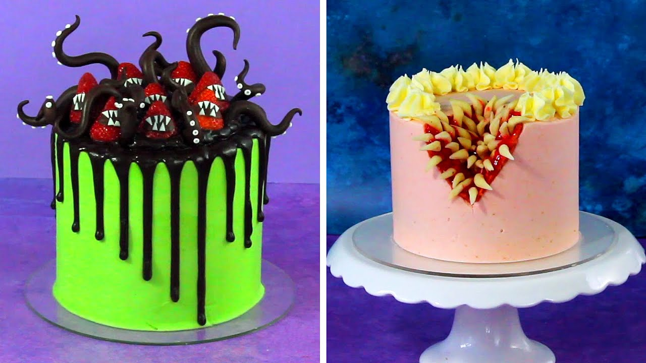 25 Scary Halloween Cake Decorations And Design Ideas
