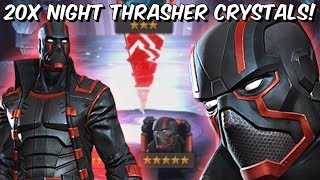 20x 5 Star Night Thrasher & Aegon Featured Crystal Opening! - Marvel Contest Of Champions thumbnail