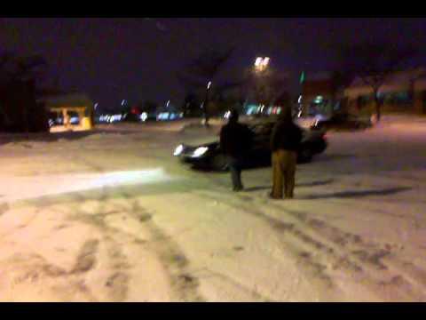 justin snow drifting the bmw 740il