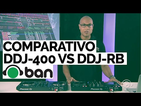 COMPARATIVO DDJ-400 vs DDJ-RB PIONEER DJ com GKD