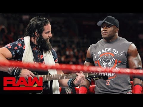 Bobby Lashley Fights Off Elias After Sinister Sneak Attack: Raw, July 30, 2018