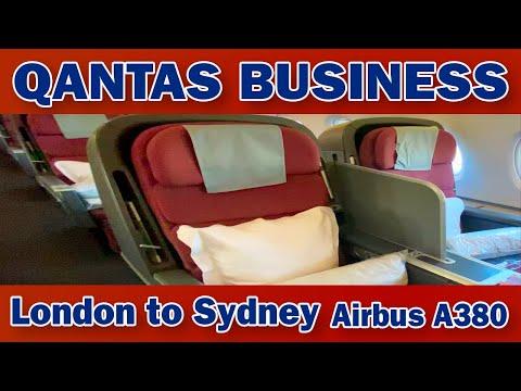 Qantas London To Sydney A380 Business Class