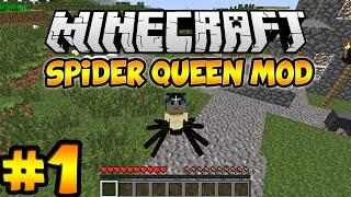 Minecraft Spider Queen Mod Let