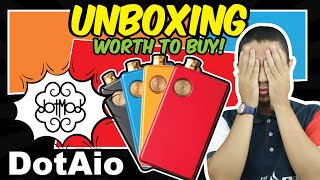 UNBOXING DotAio BY DOTMOD  -  THEVAPE69