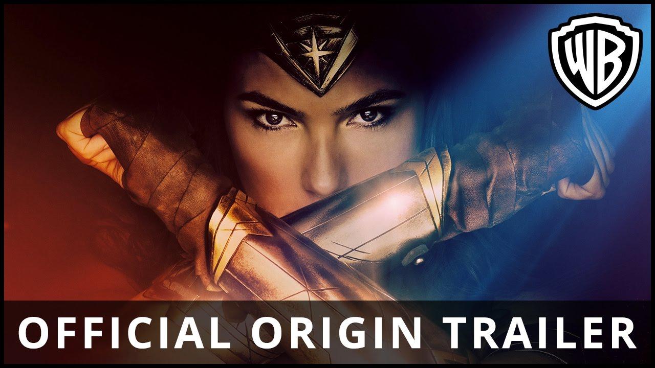 WONDER WOMAN - I biograferne 1. juni - Official Trailer HD (DK)