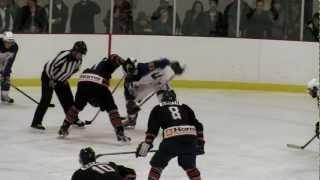 Hockey Senior AA Canton de L'Est  Finale Sherbrooke contre Coaticook