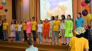 Праздник в школе, 28мая2012 Песня Мир похож на цветной луг(Видеосъемка от студии ФЕНИКС http://studiofenix.ru/, 2013-12-25T01:27:03.000Z)