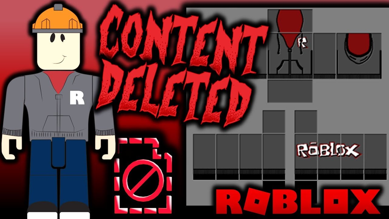 Why Did Roblox Ban Builderman S Hoodie Content Deleted Youtube