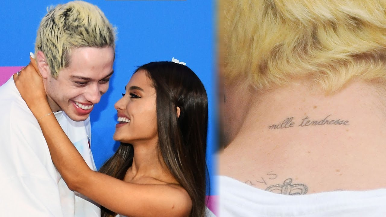 d3685e9c5dbae Pete Davidson Gets Another MATCHING Tattoo with Ariana Grande. Share;  Tweet. Elisabeth Hasselbeck Calls Rosie O'Donnell's Crush Comments  'Disturbing'