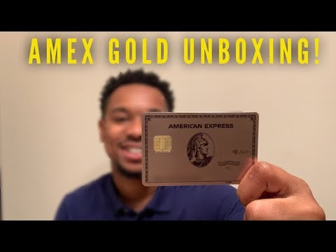 NEW METAL Amex Gold Card Unboxing!
