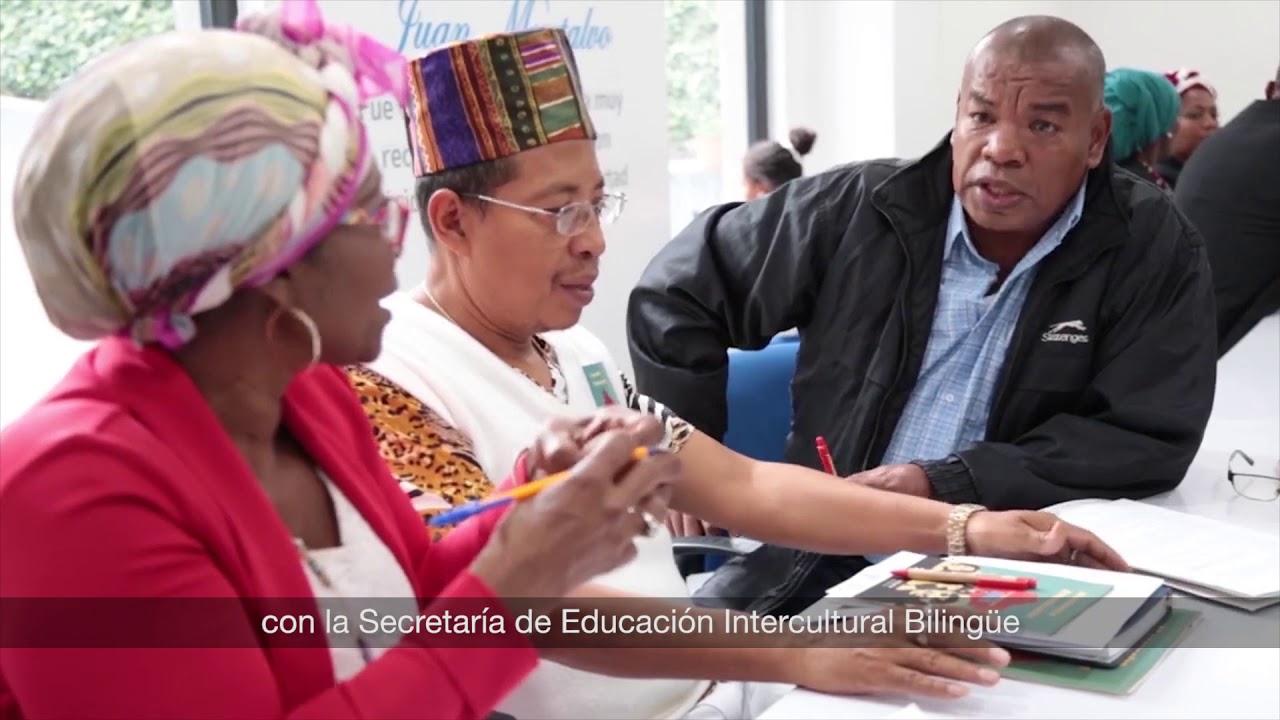 1er año Gestión Ministra Monserrat Creamer - Equidad Educativa. Etnoeducación