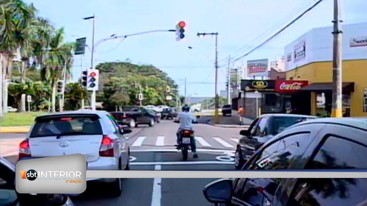 Prudente: Implantação da parada exclusiva para motocicletas em semáforos agrada