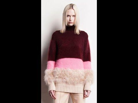 Связать Женский Молодежный Свитер Спицами - модели - 2019 / Knit Women's Youth Knit Sweater