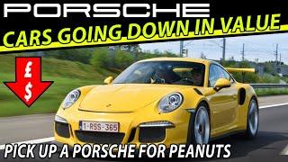 5 Porsche Cars Going DOWN in Value 👇 - Great Porsche Price Bargain News