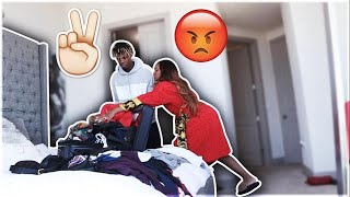 I TOLD MY GIRLFRIEND I MISS BEING SINGLE!!! **SHE GETS MAD**