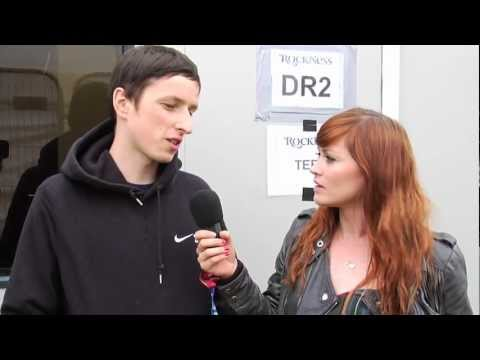 Totally Enormous Extinct Dinosaur interview at RockNess 2012