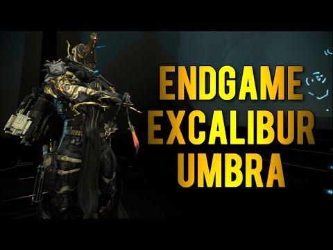 Warframe: Endgame Excalibur Umbra