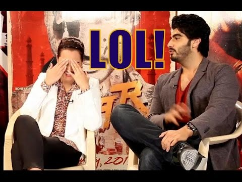 Arjun Kapoor JOKES About Sonakshi Sinha During TEVAR Movie Promotions On Freaky Fridays