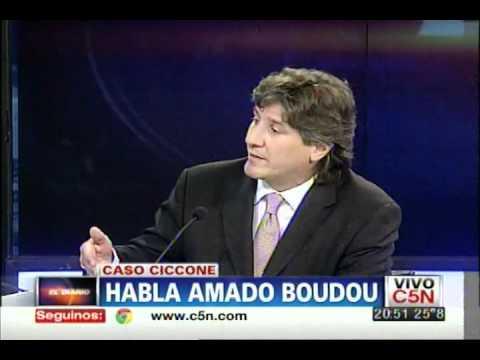 C5N - CASO CICCONE: HABLA AMADO BOUDOU | PARTE 2