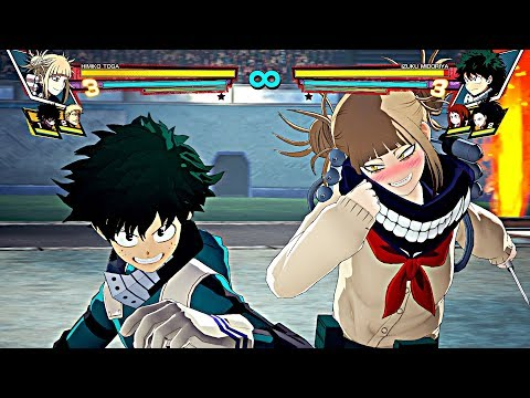 All CHARACTERS SUPER PLUS ULTRA ULTIMATE ATTACKS! My Hero Academia: One\'s Justice All Quirk Types!